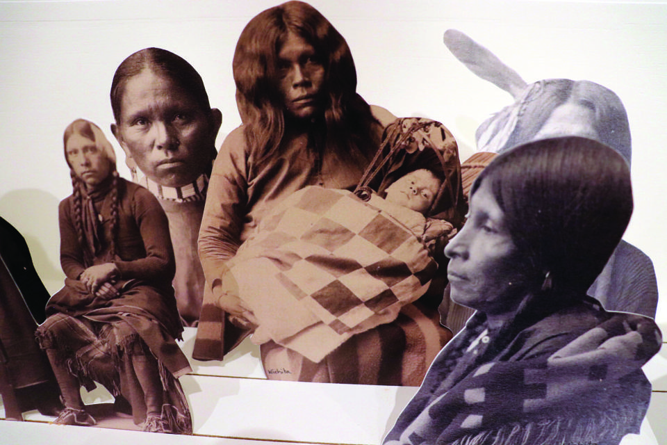Wendy Red Star (Apsáalooke, born 1981), The Indian Congress, 2021, mixed media installation