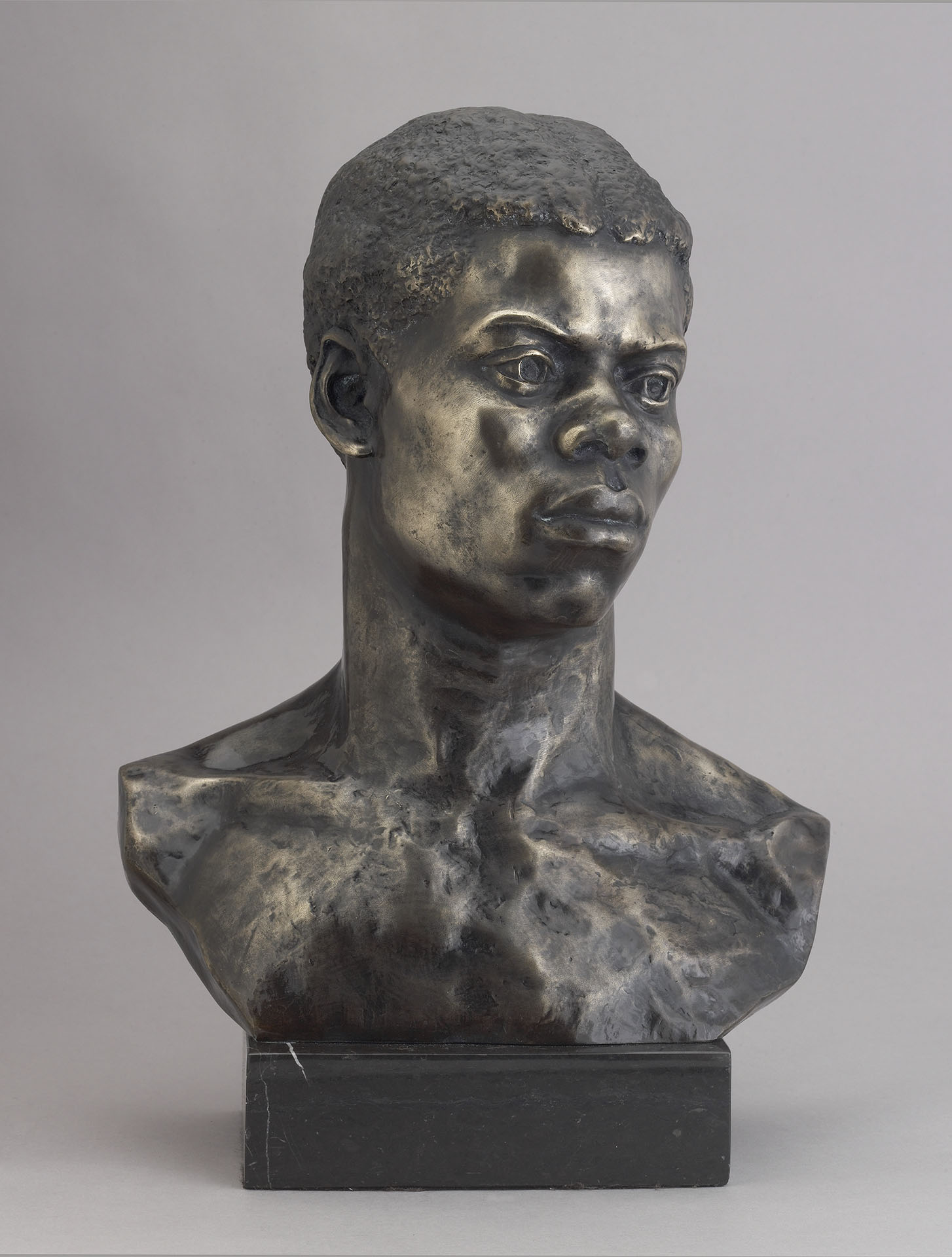 Portrait Bust of an African by May Howard Jackson