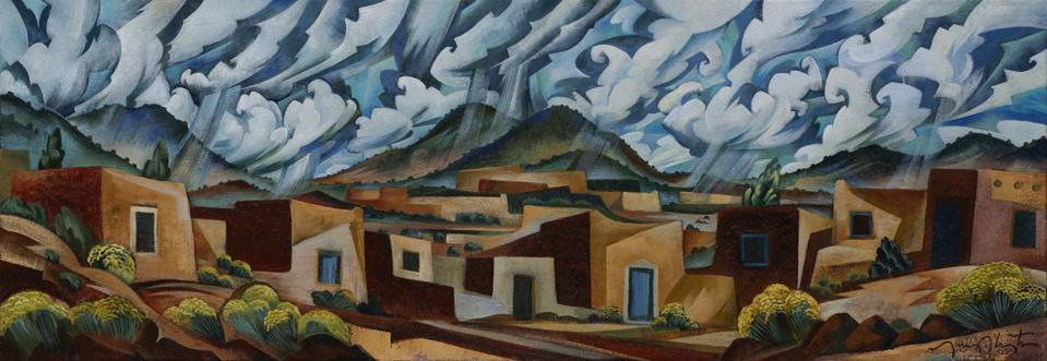 Santa Fe Skyline by Tony Abeyta
