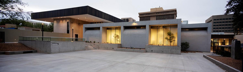 Tucson Museum of Art Kasser Family wing of Latin American Art Exterior