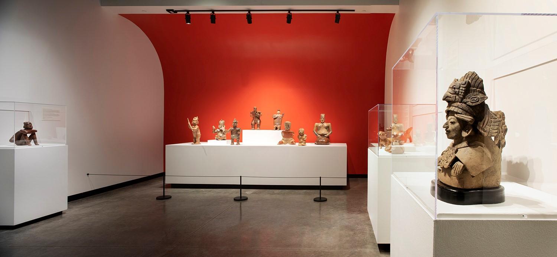 Tucson Museum of Art Kasser Family wing of Latin American Art Interior 2