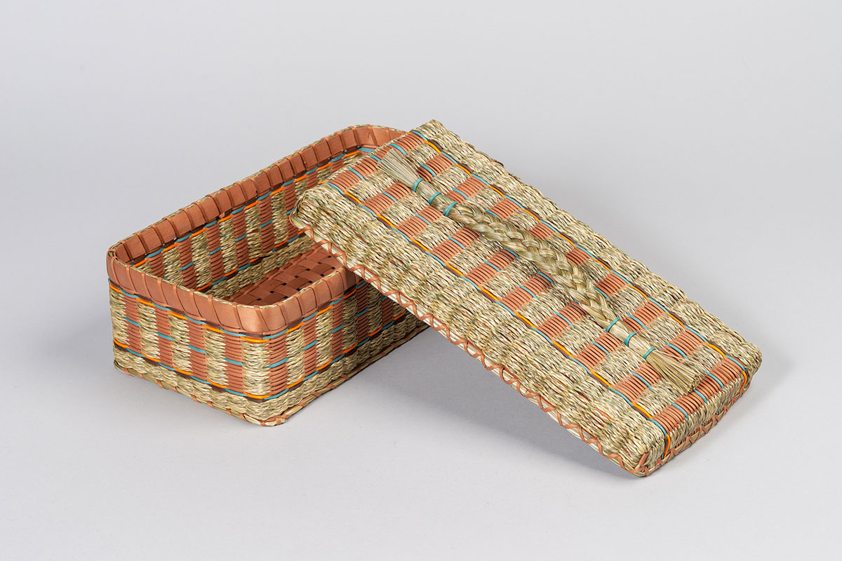 1920 Replica Woven Glove Box by Teresa Secord