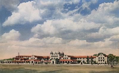 Fred Harvey Alvarado Hotel