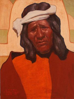 """Logan Maxwell Hagege, Near Two Grey Hills, Oil on Linen, 16"""" x 12"""""""