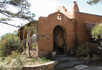 The home and studio of E. I. Couse, maintained by the Couse Foundation, Taos, New Mexico