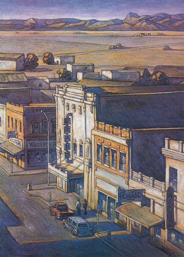 Howard Post, Rick's Oil, Oil, 40 x 30