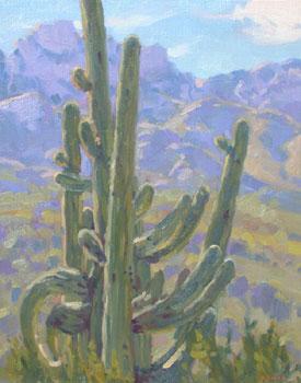 Gregory Hull, Desert King, Oil on Canvas, 20