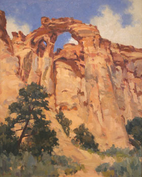 Gregory Hull, Grosvenor Arch, Oil on Canvas, 30