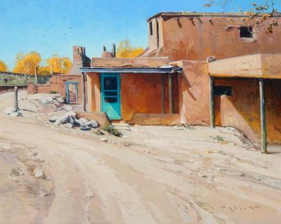 "Josh Elliott, Colors of New Mexico, Oil on Panel, 16"" x 20"""