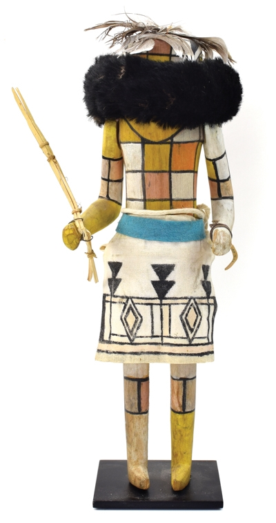 Hopi - Zuni Kachina Many-Colored Warrior of Zenith circa 1930
