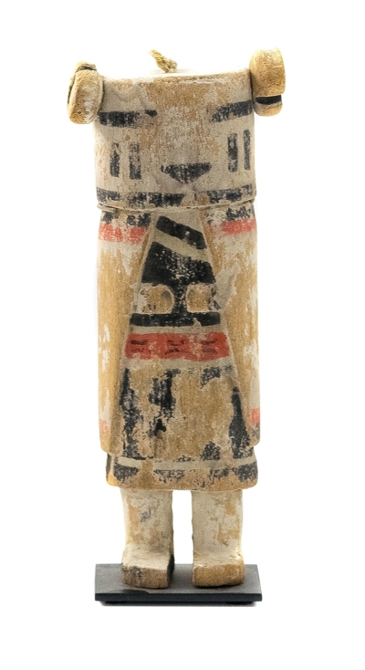 Nuvak'chin or Snow Maiden Kachina c1890-1900 appears in Snow Dance or Niman Kachina Dance