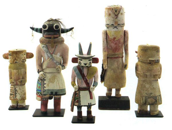 Collection of 5 Kachinas