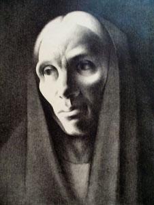 "Kenneth Adams, Benerisa, c. 1930, lithograph, 24"" x 20"""