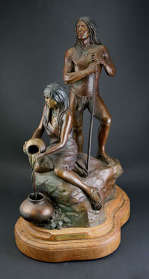 Susan Kliewer, Sinagua, Monumental and Maquette Bronze