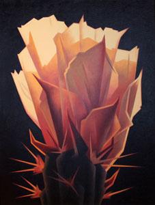 Ed Mell, Sunrise Bloom, Giclee, 30