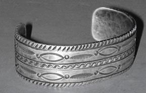 Miramontes Old Style Silver Wrist Bracelet