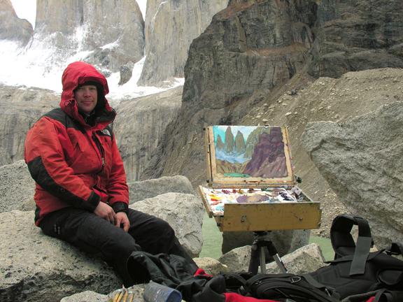 Dominik Modlinksi in Patagonia