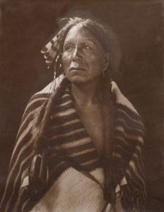 "Karl E. Moon, Gray Hawk - Taos, c. 1900, 16"" x 13"""