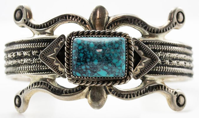 Carolyn and Wilson Begay Bracelet