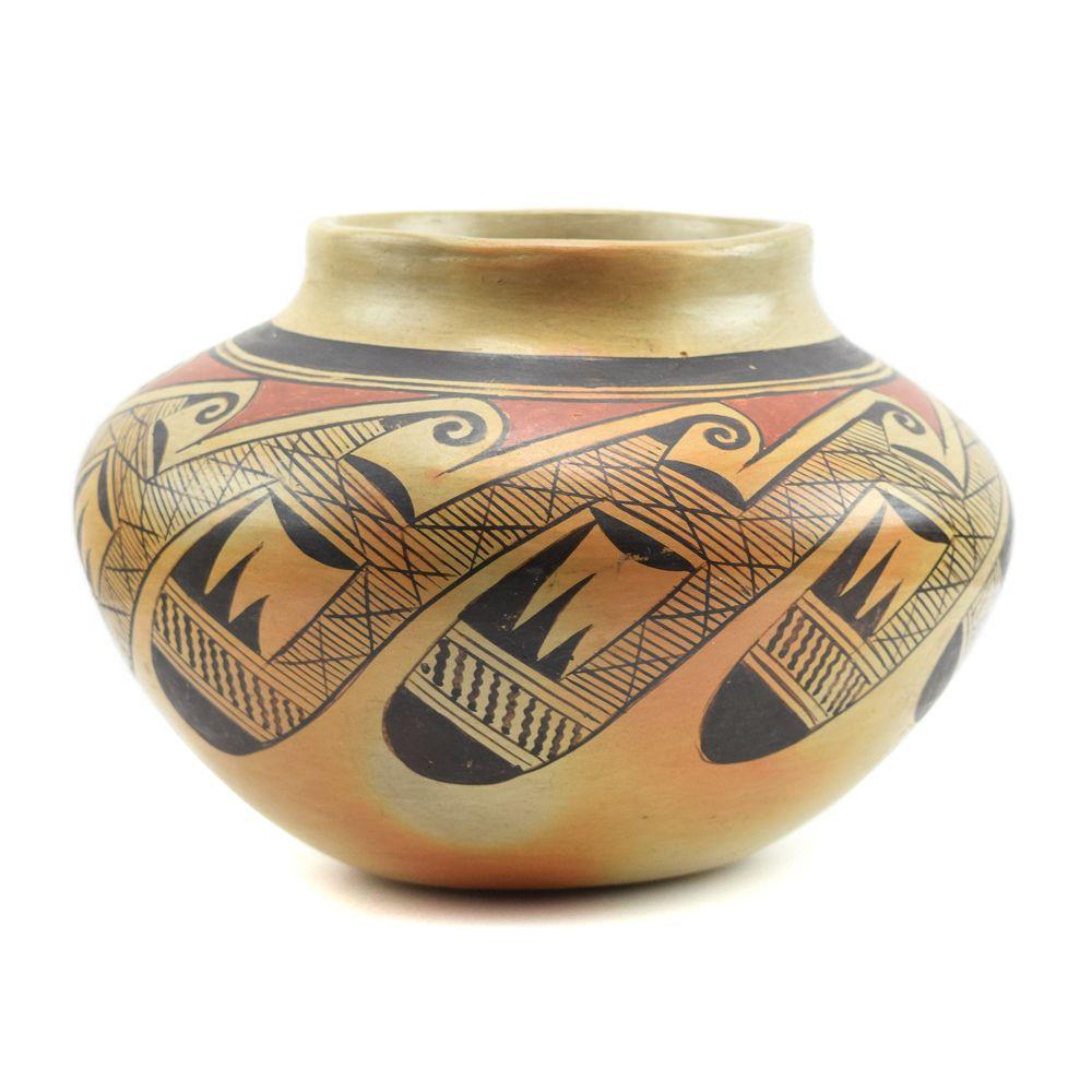 Nellie Nampeyo - Hopi Jar with Migration Pattern
