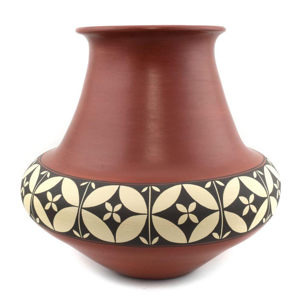 Lois Gutierrez - Santa Clara Redware Vase c. 1993