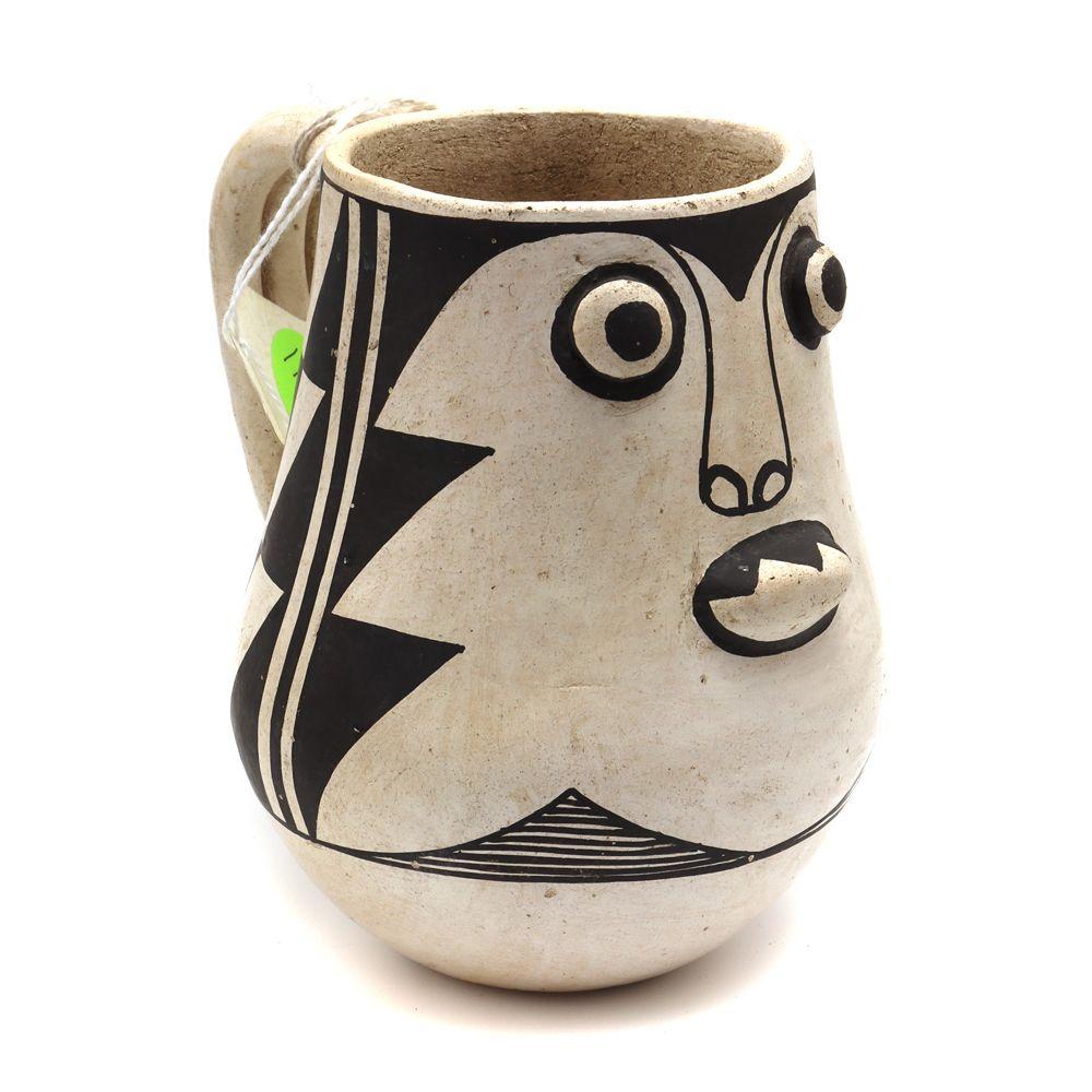 Jessie Garcia - Acoma Mug c. 1950s