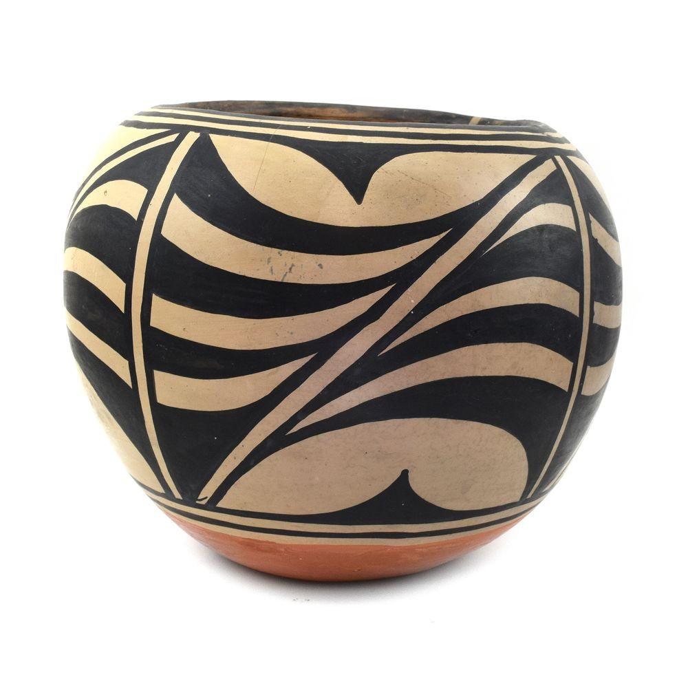 Santana Melchor - Santo Domingo (Kewa) Polychome Jar