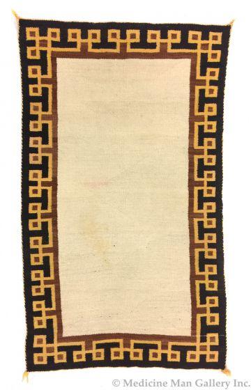 Navajo double saddle blanket