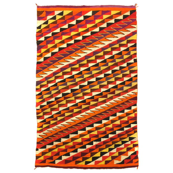 Navajo Eyedazzler - homespun wool