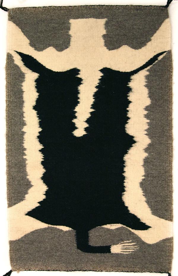 Navajo Pictorial rug by Vanzine Mazie