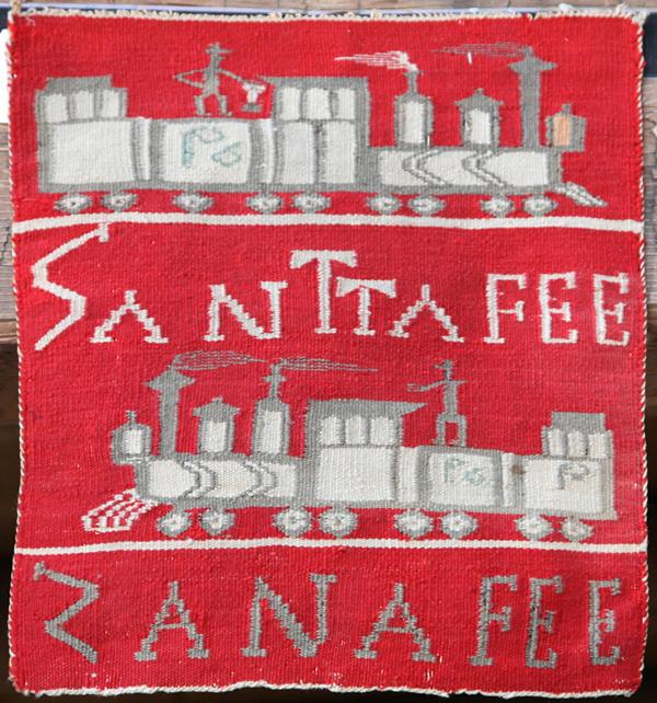 Navajo Pictorial of the Santa Fe Railroad