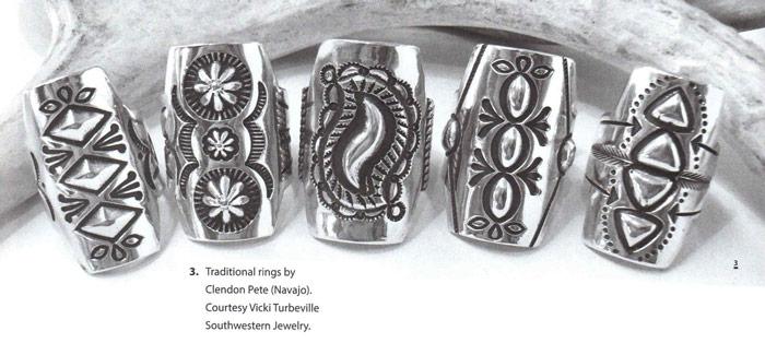 navajo rings