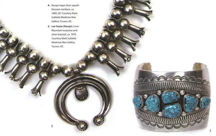 navajo squash and bracelet