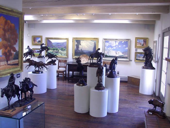 Back Room Gallery View 602A Canyon Road