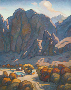Howard Post, Changing Season, Oil on Canvas, 60