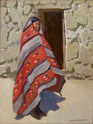 Ray Roberts, Churro Warmth, Oil on Canvas, 16