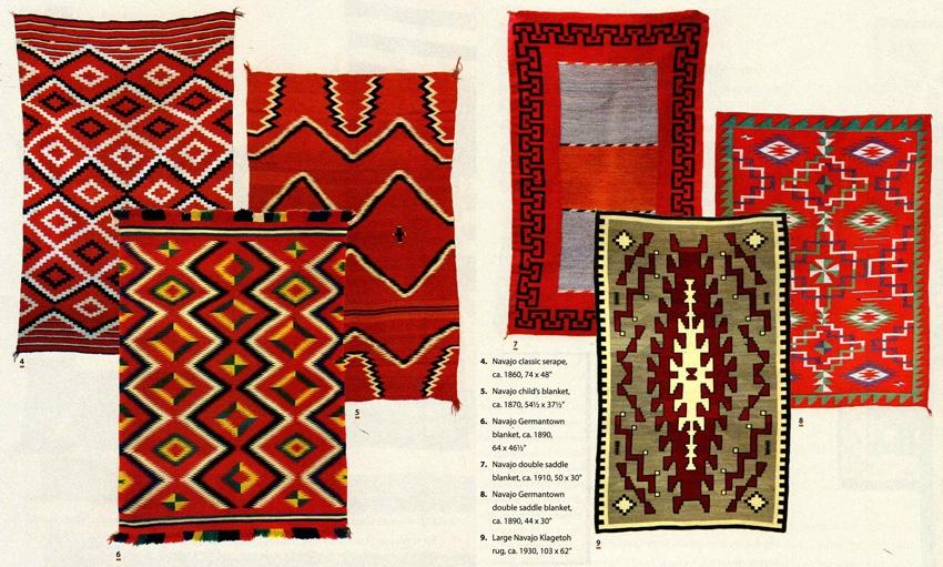 Collecting Navajo Rugs, Native American
