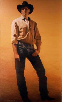 Gary Ernest Smith, The Seasoned Man, Oil on Canvas, 60