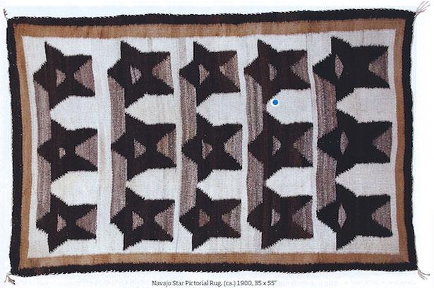 Navajo Star Pictorial Rug