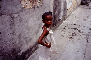 "Ned Sublette, Girl, Luyano, Color Photograph, 11"" x 14"""