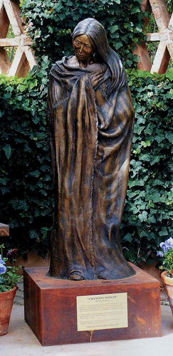 Susan Kliewer, Changing Woman, Bronze, 57 x 18 x 12