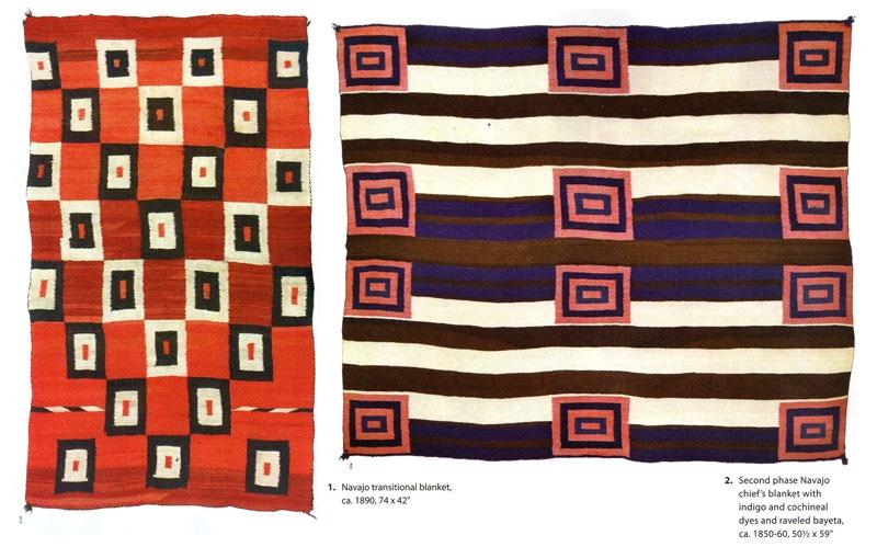Navajo  Transitional Blankets at Medicine Man Gallery