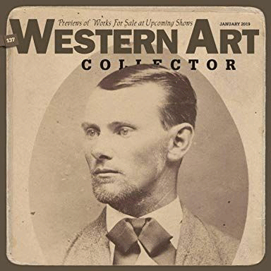 Western Art Collector - Maynard Dixon, Into the Golden Dust