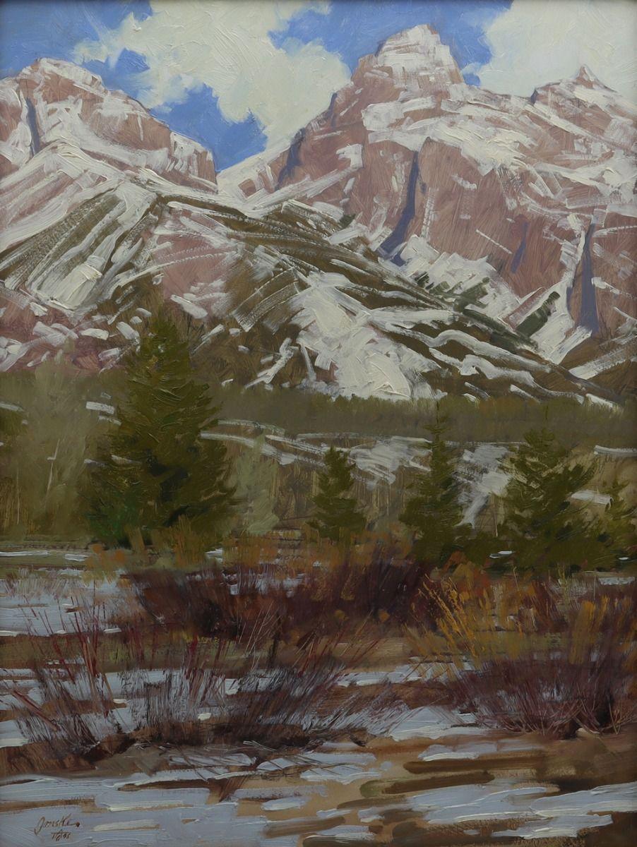 Mountain Landscape by Walt Gonske