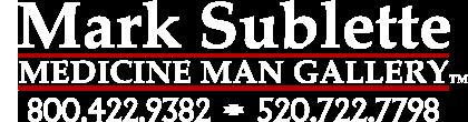 Mark Sublette Medicine Man Gallery Logo